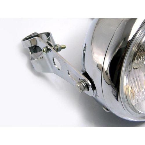 32mm - 40mm Chrom Lampenhalter