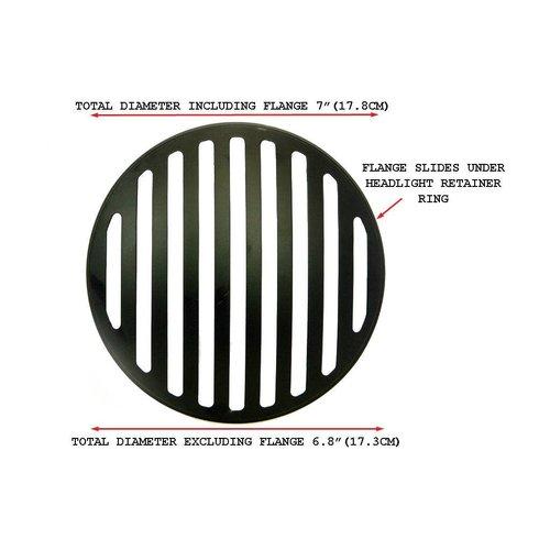 175MM Prison Grill Insert Schwarz