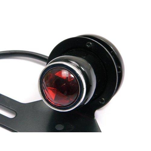 Achterlicht Type Atomic Zwart / Chrome