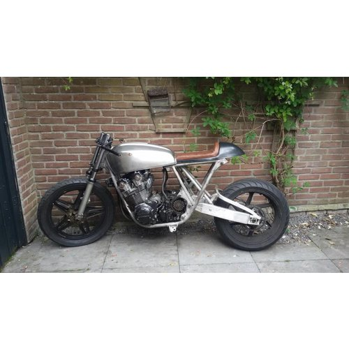 C.Racer Cafe Racer Sitzbank Diamond Stitch Grau Type 132