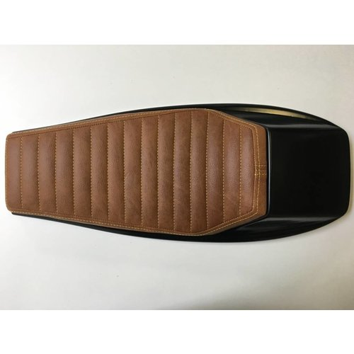 C.Racer Street Tracker Seat Vintage Brown / Yellow 130