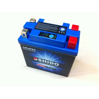 Shido YTX14AHL-BS Lithium Ion battery 240CCA