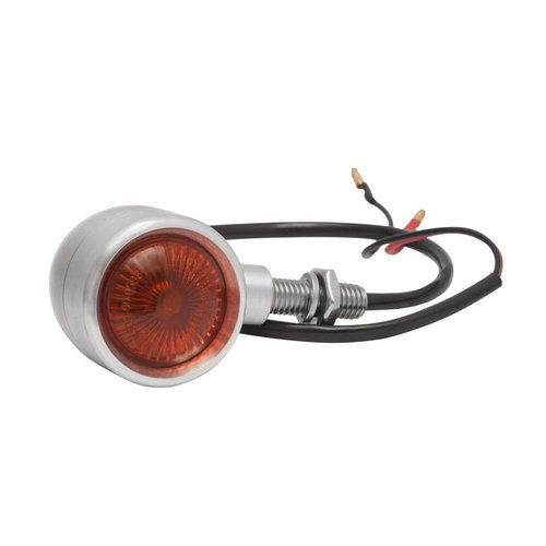 Motone Custom Billet Indikator Blinker - Pair - Gebürstet