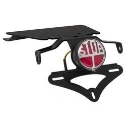 [Triumph]  Miller STOP Rückleuchte - Schwarz - Tail Tidy Plate - Loom - KIT