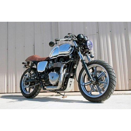 Motone Custom Aluminium Benzinetank - EFI - Gepolijst