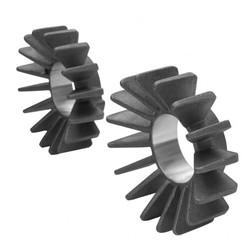 Colliers d'échappement à ailettes - moteur à injection