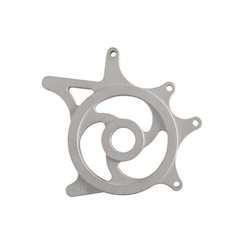 Motone Custom Kettenradabdeckung - Silber