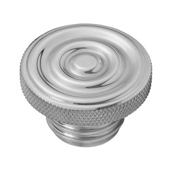 Custom Kraftstoff-Gas-Kappe - Billet Aluminium - Gewellt