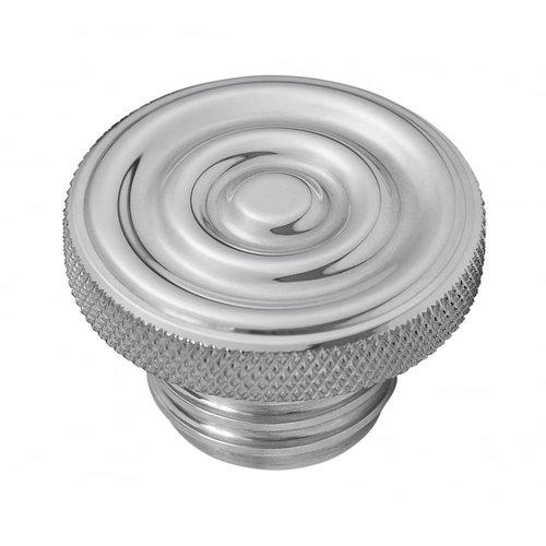 Motone Custom Kraftstoff-Gas-Kappe - Billet Aluminium - Gewellt