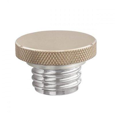 Motone Custom Fuel Gas Cap - Billet Brass and Aluminium