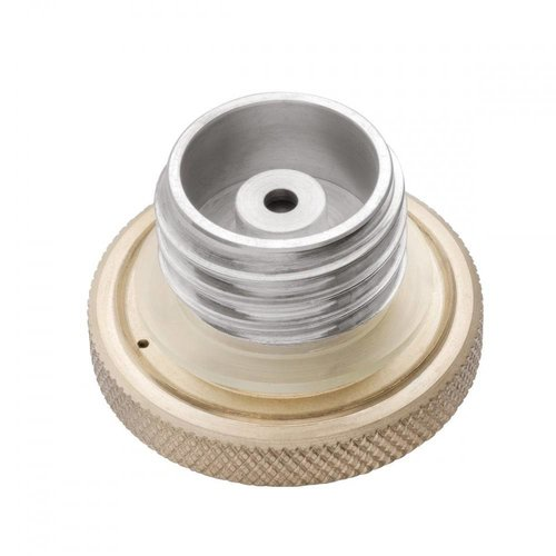 Motone Custom Kraftstoff-Gas-Kappe - Billet Messing und Aluminium