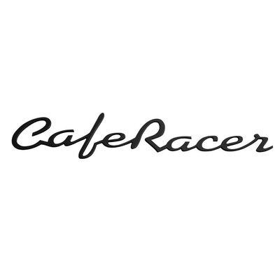 Motone Cafer Racer - Petrol Tank / Side Panel Emblem Set - Black - Pair