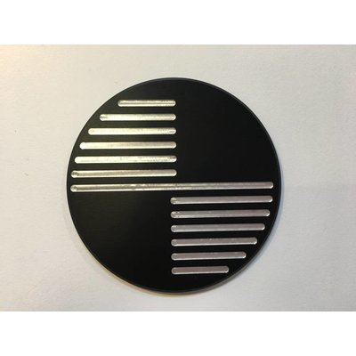 Handmade BMW 70MM Emblems Black Type 1