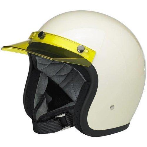 Biltwell Moto Visier Gelb