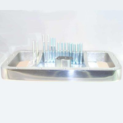 Siebenrock Oil sump spacer ring '' polished for BMW R2V