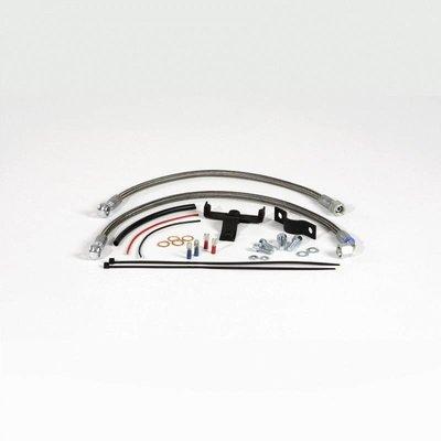 Siebenrock Oil cooler relocation kit central for BMW R2V Boxer models