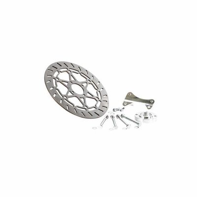 Siebenrock Brake disc kit 320mm with adapter for BMW R 80GS and R 100GS approved
