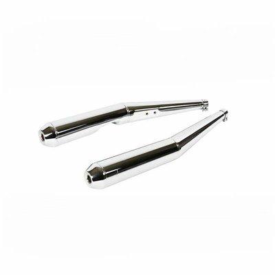 Siebenrock Set of silencers for BMW R 45 and R 65 models