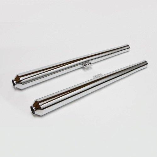 Siebenrock Auspuffendtöpfe Hoske 38 mm für alle BMW /5, /6 und /7 Modelle