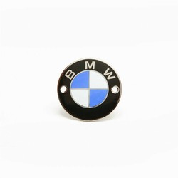 Emblème BMW 70mm, modèles /5, verni, fixation par vis