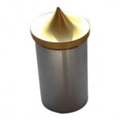 Cap - Weld in - Brass