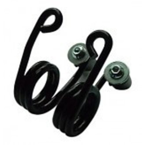 Hairpin Springs Black 3 inch with Mountingkit
