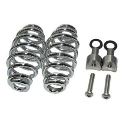 "Spiral Springs Chrome 5"" with Mounting"