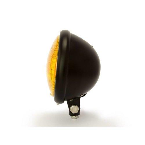 "5,75"" Yellow Bates Style Koplamp Bottom Mount Zwart"