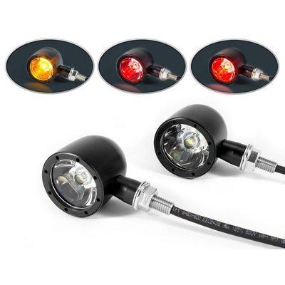 LED-Blinker- / Rücklicht-Einheit Bullet Halo