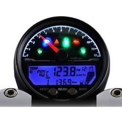4453 Speedo met zwarte behuizing 12.000 RPM