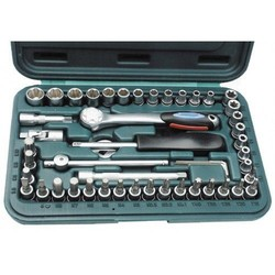 Socket set 49 pieces 1/4 ""