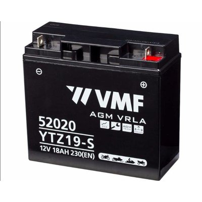 VMF VMF YTZ19-S Maintenence Free Motorradbatterie BMW