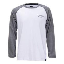 Baseball-Shirt - Dark Grey Melange