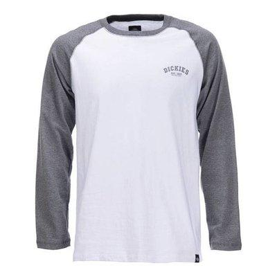 Dickies Baseball Shirt - Dark Grey Melange