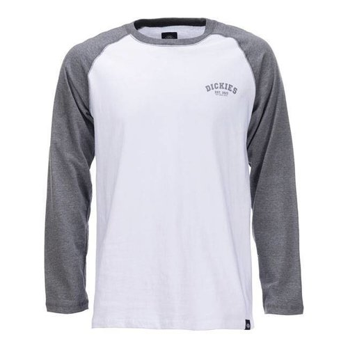 Dickies Baseball-Shirt - Dark Grey Melange