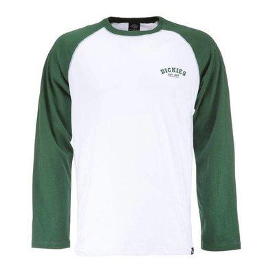 Dickies Baseball-Shirt - Flaschengrün