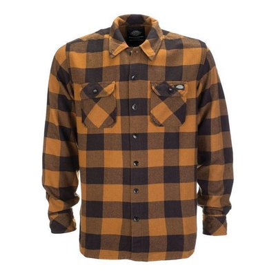 Dickies Sacramento-Hemd - Brown-Ente