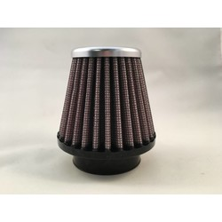 51MM Cone Filter Aluminium Top XVR-5100
