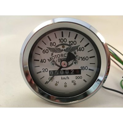 60MM BMW Odometer Chrome + 4 Extra Functions