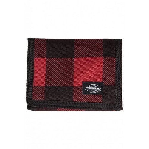 Dickies Crescent Bay Wallet Rood