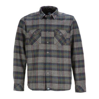 Dickies Wallace Long Sleeve Shirt Dark Navy