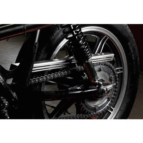 "Yamaha SR500 - Chain Guard ""Slotted"""
