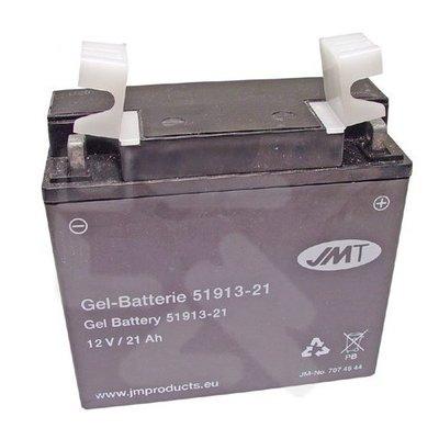 JMT 519.13 Gel Accu 21A Voor oa BMW & Moto Guzzi