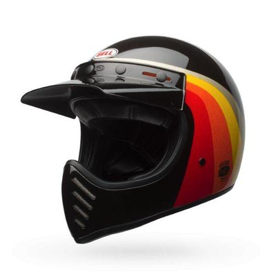 Bell Moto-3 Chemical Candy Schwarz / Gold