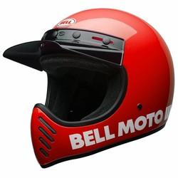 Casque rouge Moto3 classique