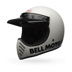 Moto-3 Klassisches Weiß