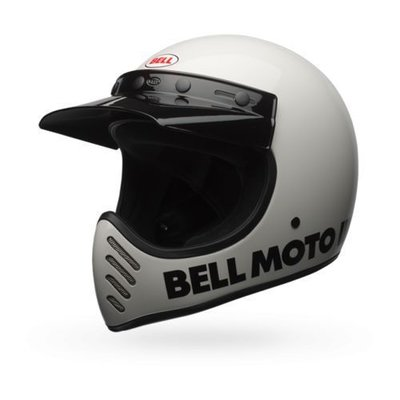 Bell Moto-3 Klassisches Weiß