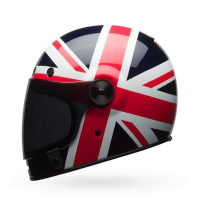 Bell Bullitt Carbon Spitfire Blue/Red