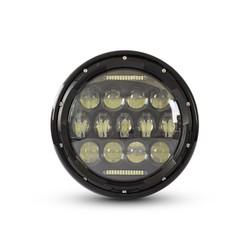 """7"""" Multi Projector LED Headlight Black"""
