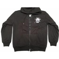 protective fabric Hoodie + Protectors - Black